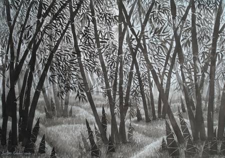 葛拉娜-Morning in the bamboo forest
