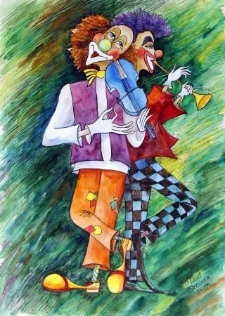 葛拉娜-Violin & Trumpet - Circus Fantasy series