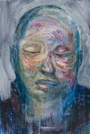 江威儒  -流淌的肖像