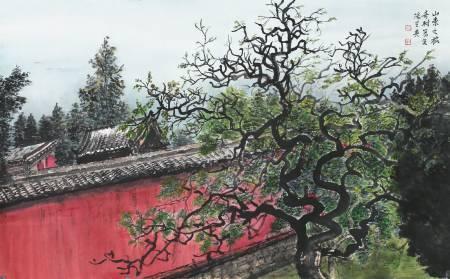陽芝英-奇樹寫生