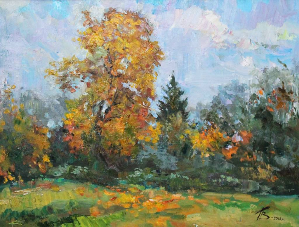 Pavel Veselkin - golden maple
