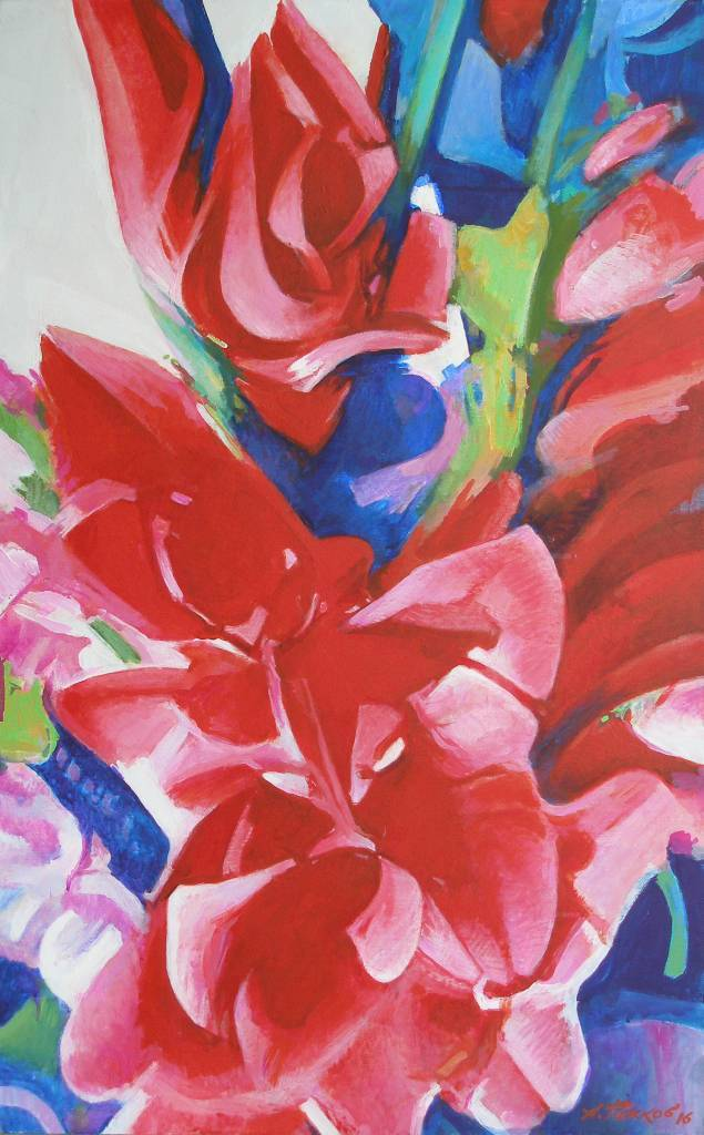 Olexander Rozhkov-Gladiolus