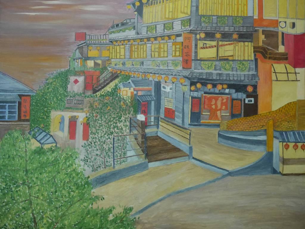 莊鴻麟 - 九份老街