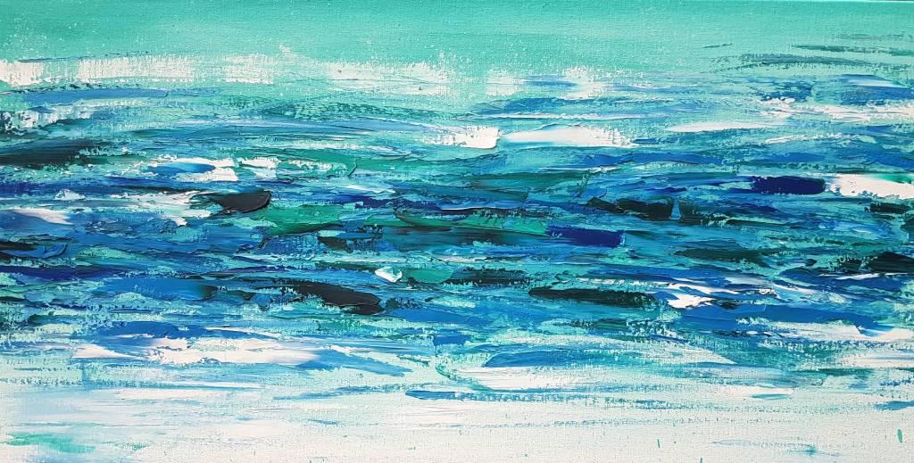 葛拉娜 - Blue Laguna(Abstraction#02)