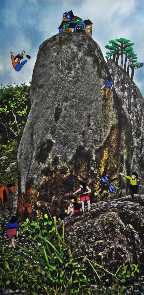 盧俊翰 - 石頭山水 場景一