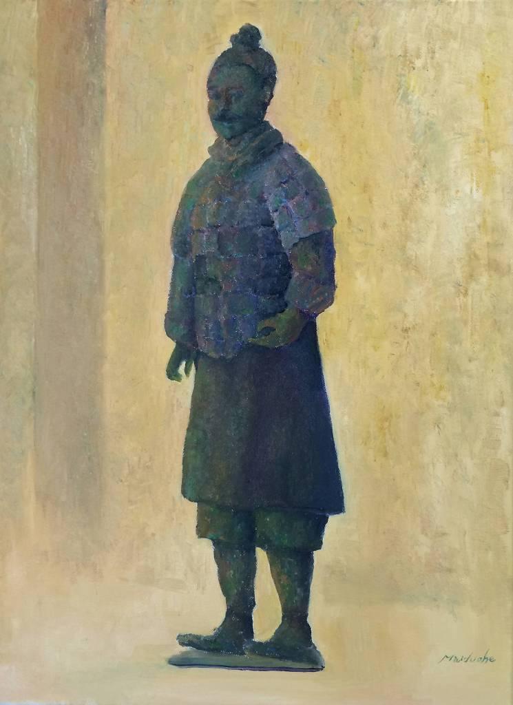 麥朵赫 - 青銅俑