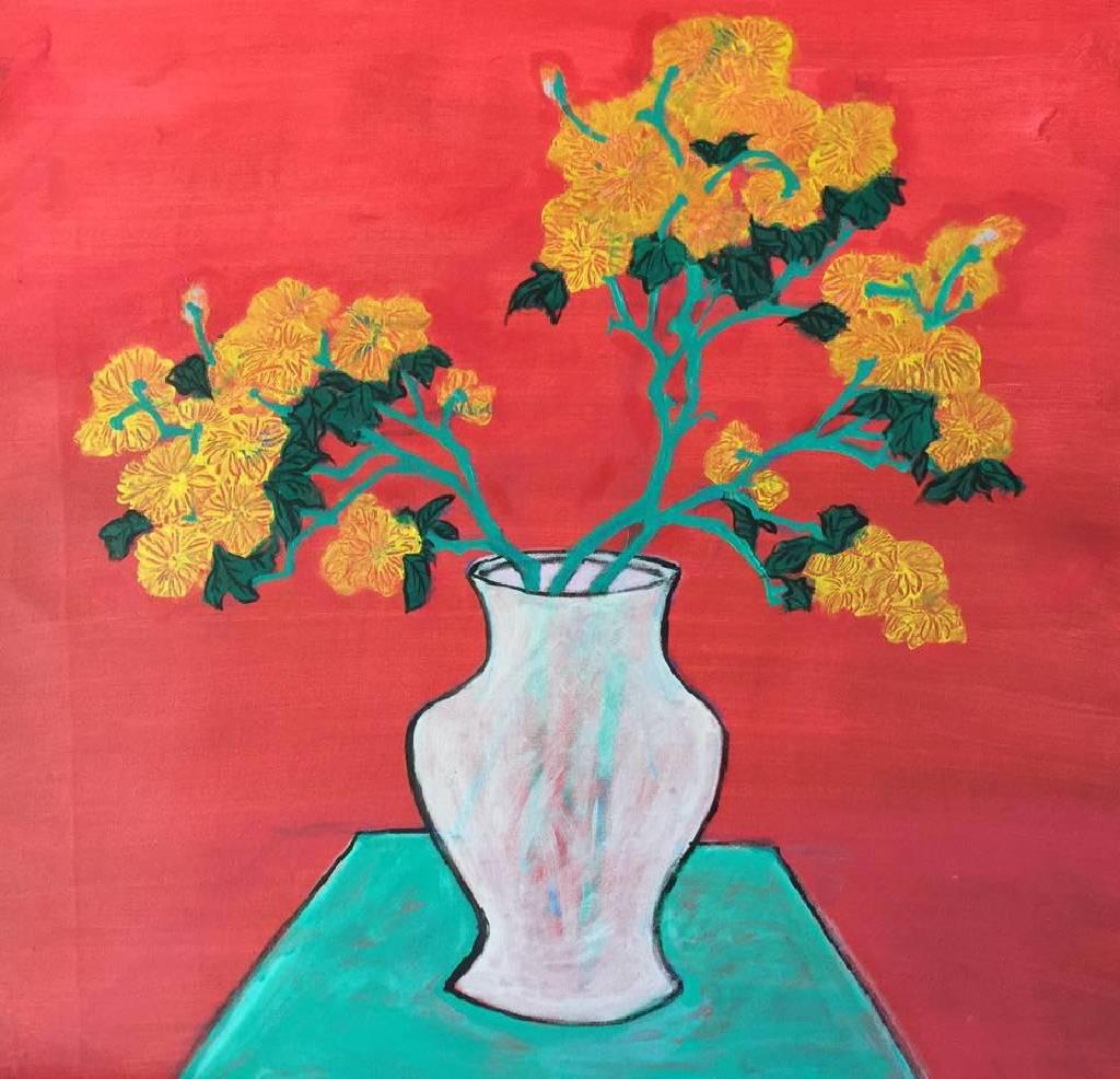 秀子 - 白瓶黃菊