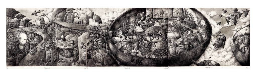 詹幃婷 - 生態烏托邦I、II、III