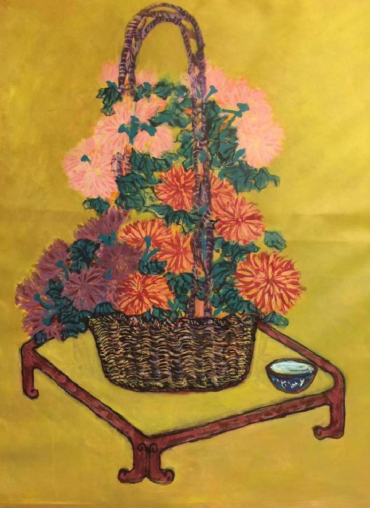 秀子-三色菊