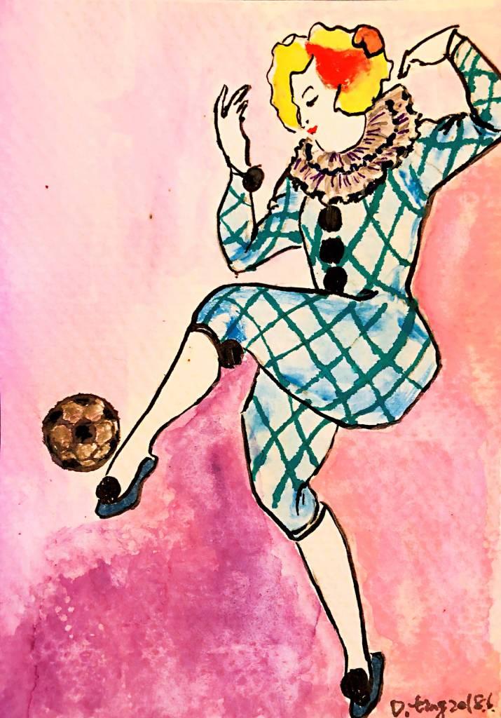 Danting - play soccer [含框]