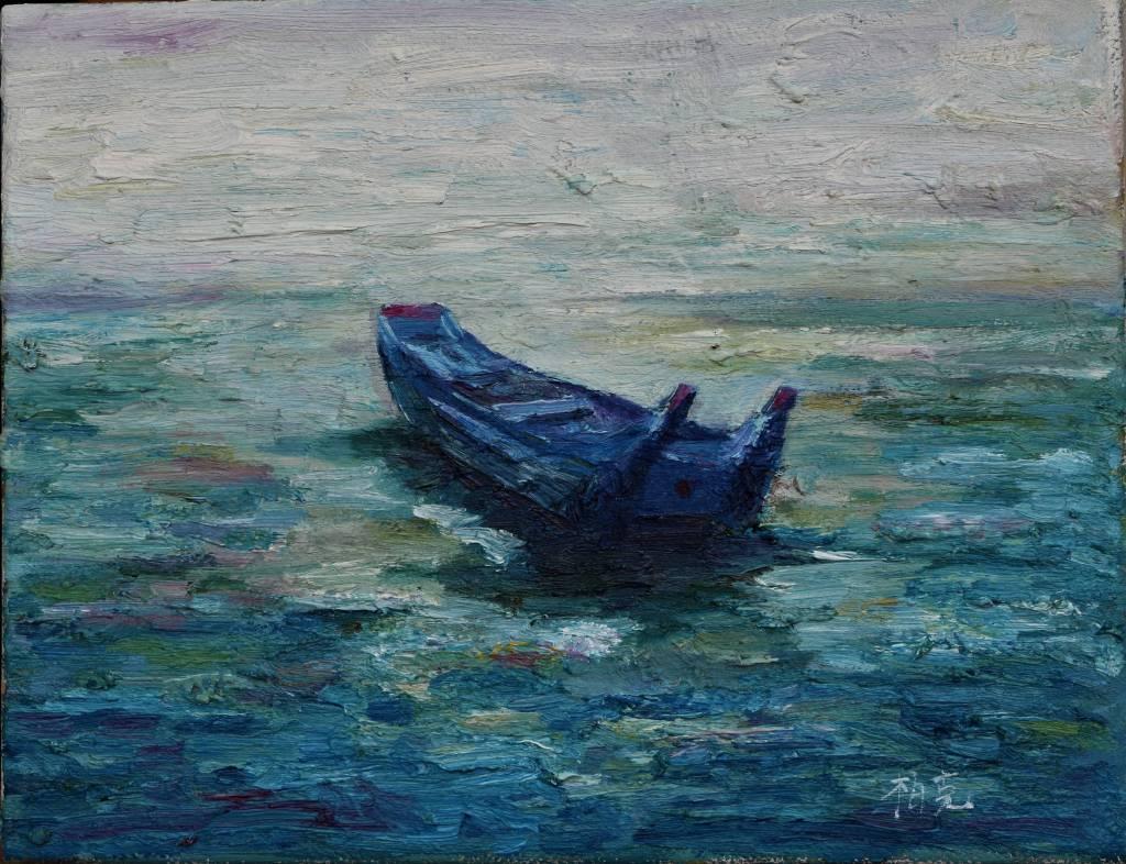 潘柏克(柏克創藝) - 舢舨與海