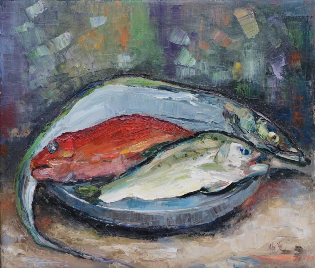 潘柏克(柏克創藝) -  年年有餘(魚)  To have fish year after year