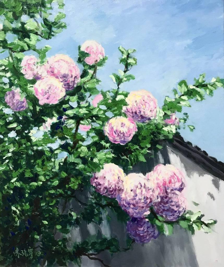 陳治宇 - 盛夏的繡球花