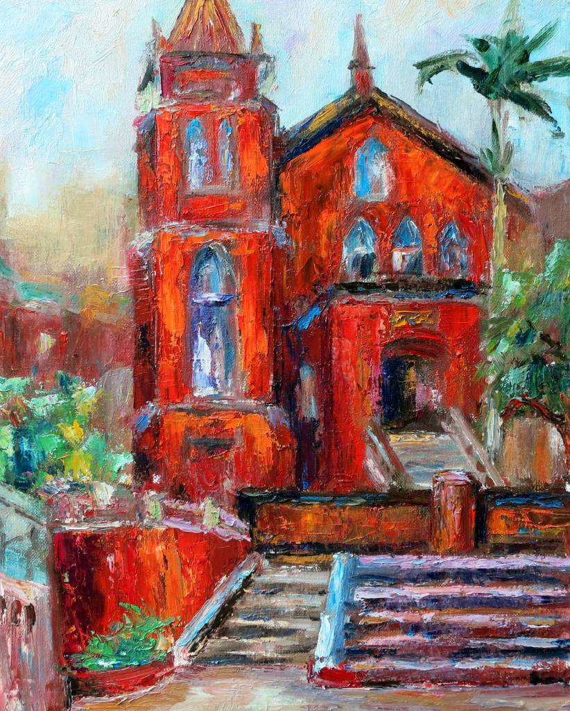 潘柏克(柏克創藝) - 淡水禮拜堂 Chapel of Presbyterian Church, Tamsui