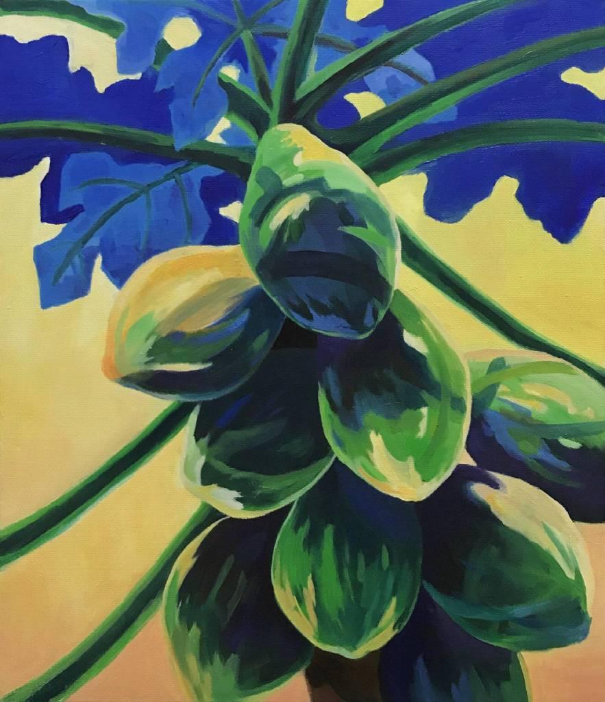 陳治宇 - 「物產豐隆系列」- 結實的木瓜
