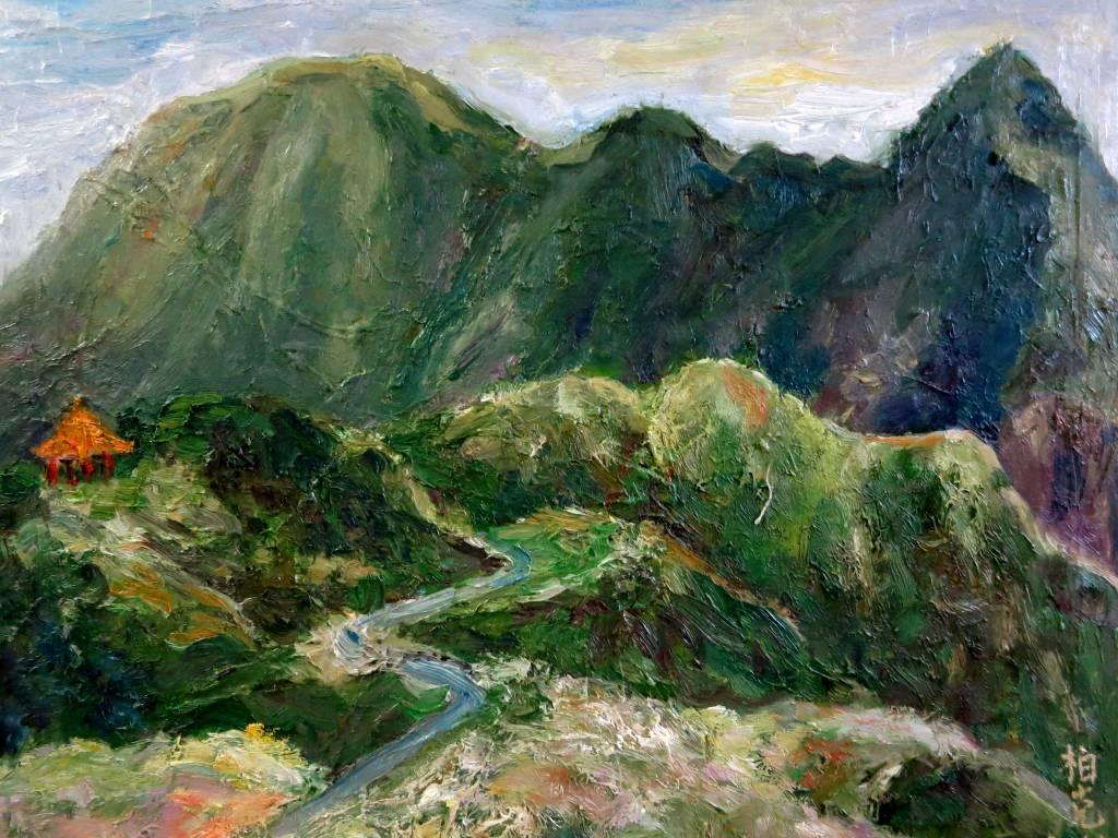 潘柏克(柏克創藝) - 俯瞰基隆山 Overlooking Keelung Mountain