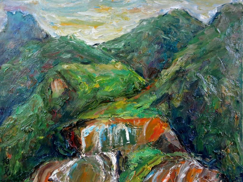 潘柏克(柏克創藝) - 黃金瀑布 Golden Waterfall