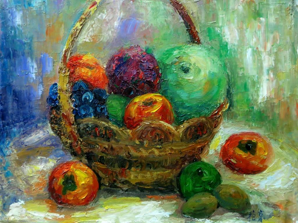 潘柏克(柏克創藝)-瓜果飄香 Fragrant Melons and Fruits