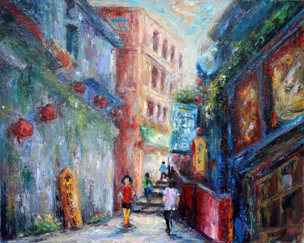 潘柏克(柏克創藝) - 九份老街 Jiufen Old Street