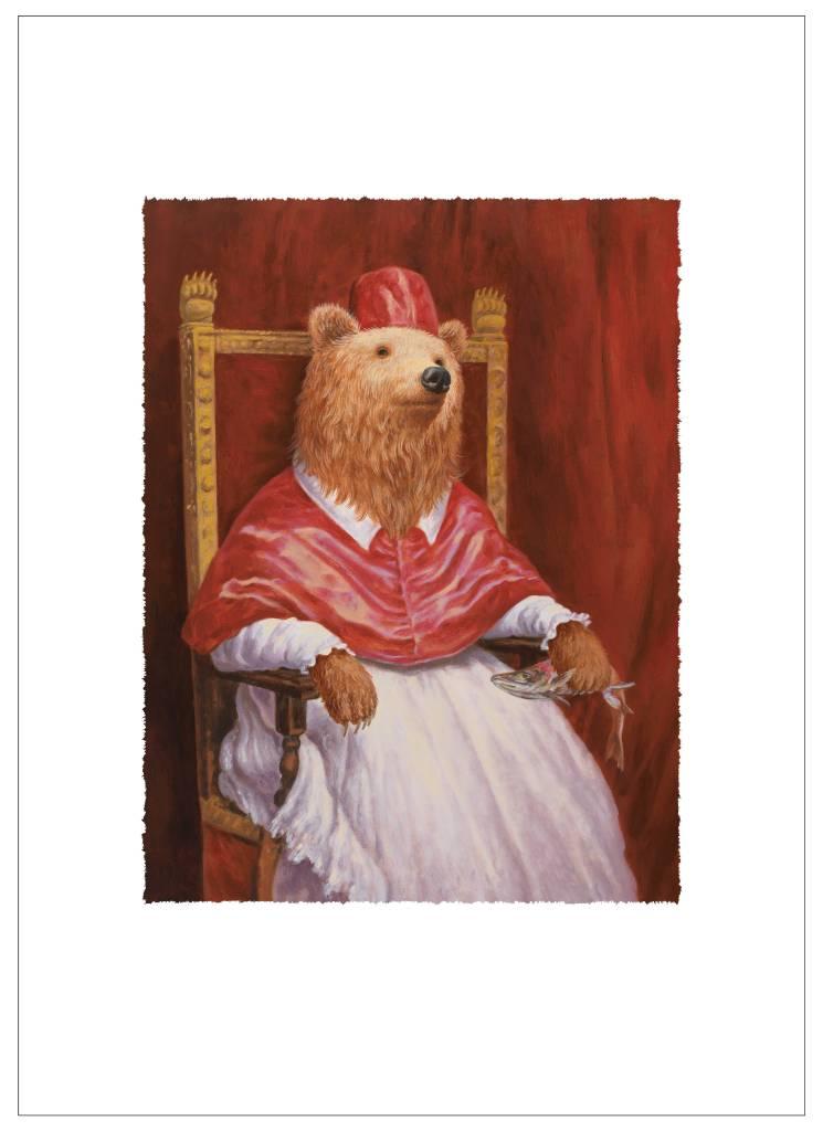 詹喻帆 - 穿著紅衣的熊主教