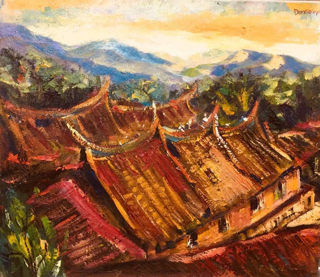 Dorrie Hsu - 獅頭山上的寺廟