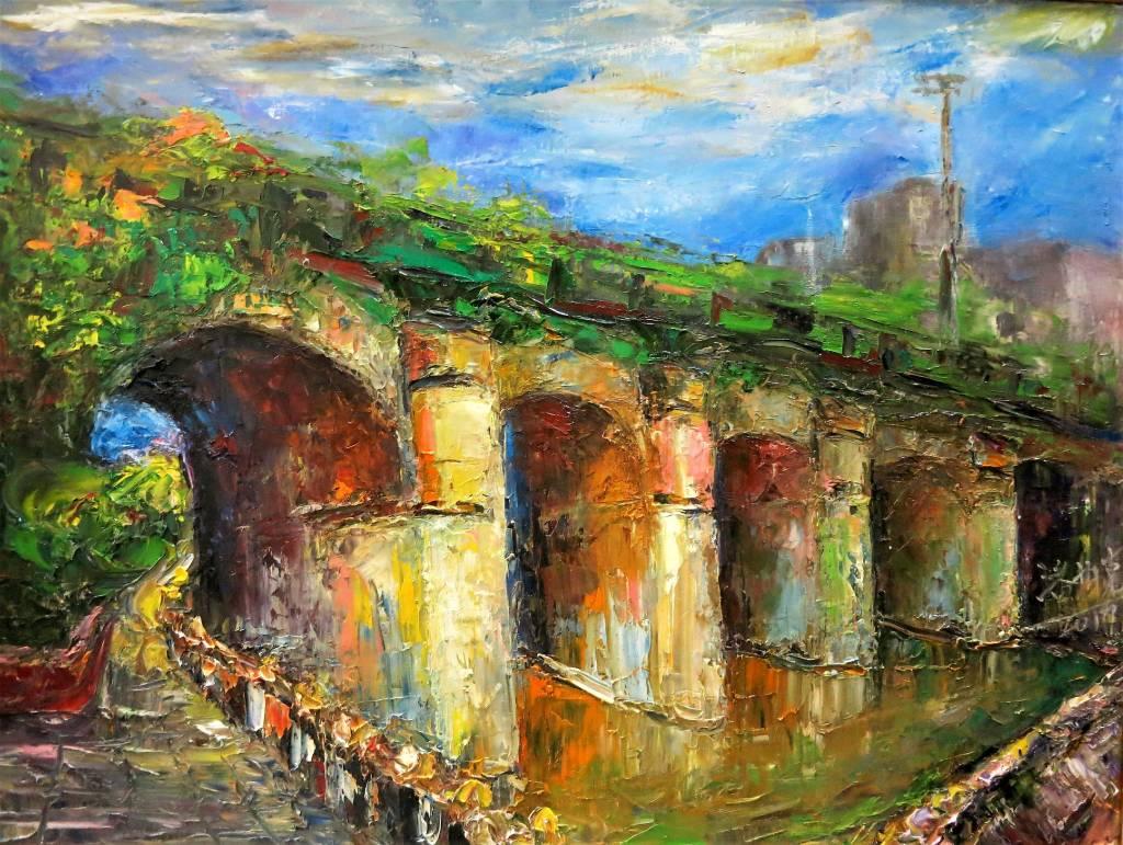 潘柏克(柏克創藝) - 東安古橋 Dongan Ancient Bridge