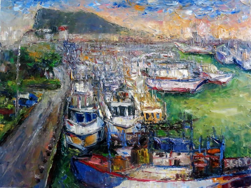 潘柏克(柏克創藝) - 深澳漁港 Shenao Fishing Port