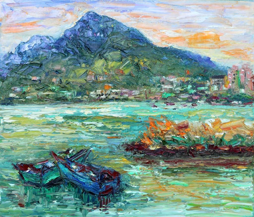 潘柏克(柏克創藝) - 眺望觀音山 Overlooking Guanyin Mountain