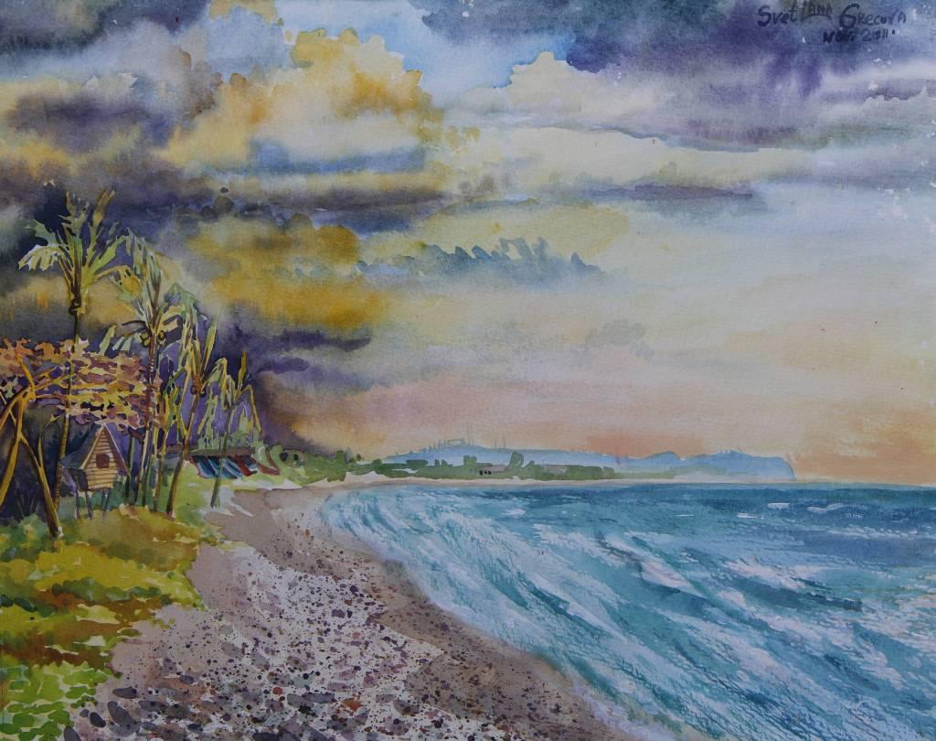 葛拉娜 - Sea shore