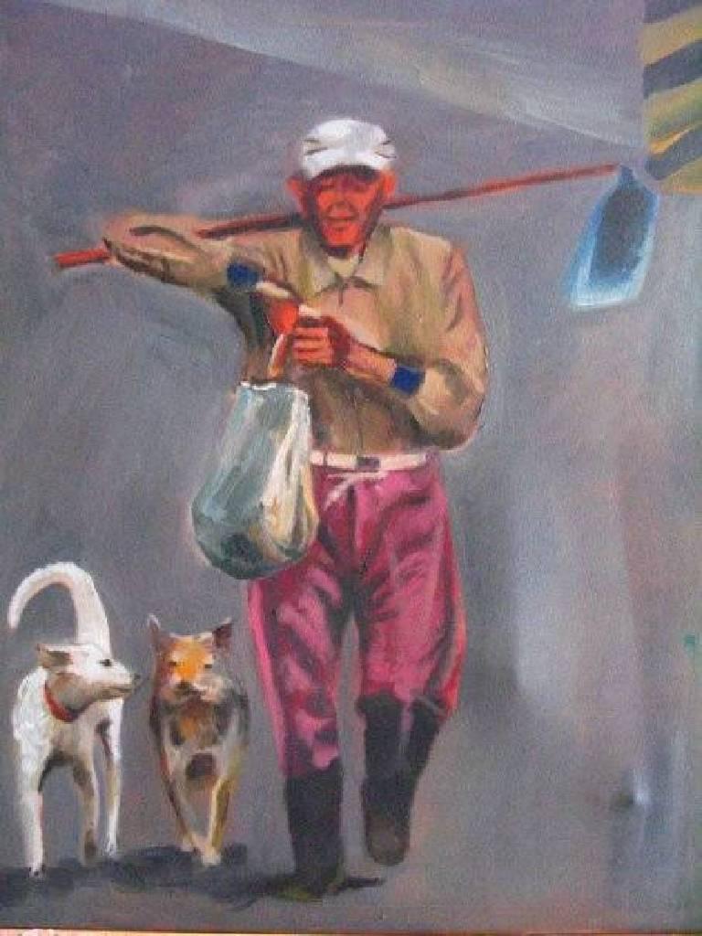 林裕盛 - 老人與狗