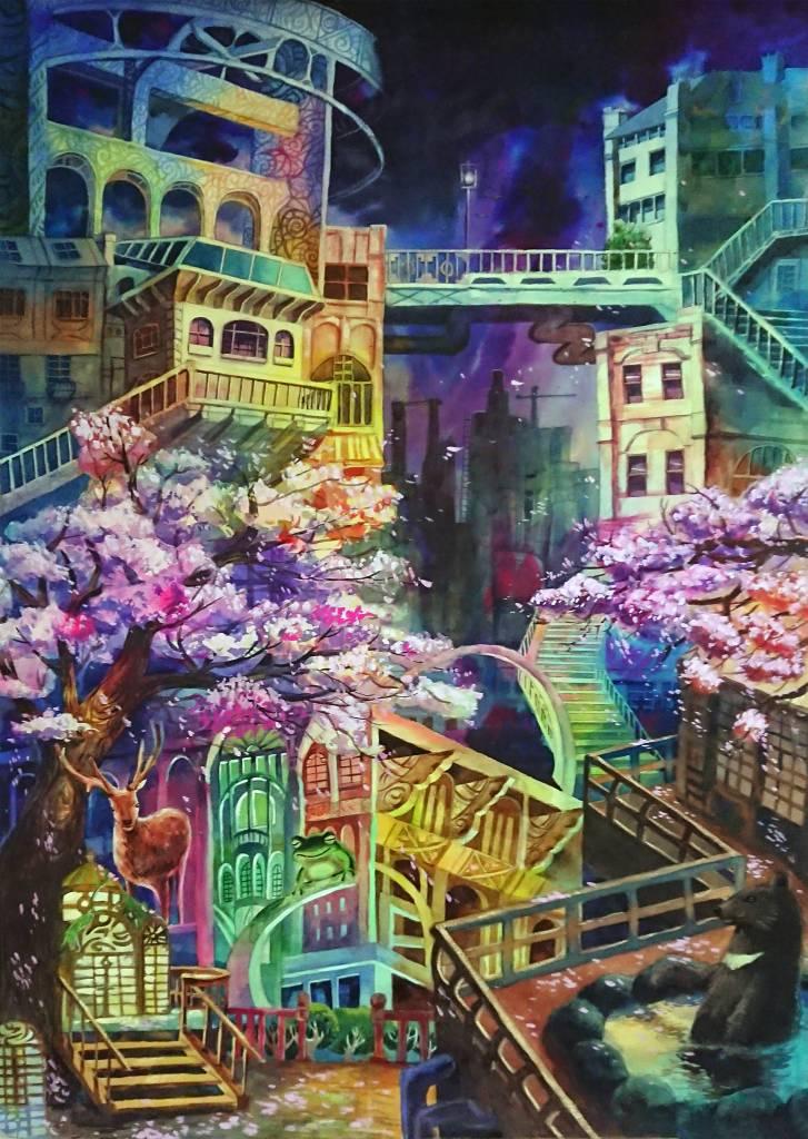 曾寶萱-奇幻城市