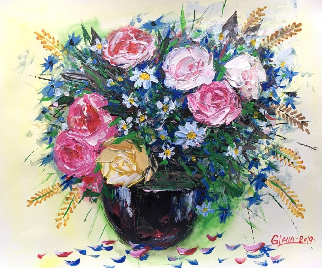 葛拉娜-Country style bouquet
