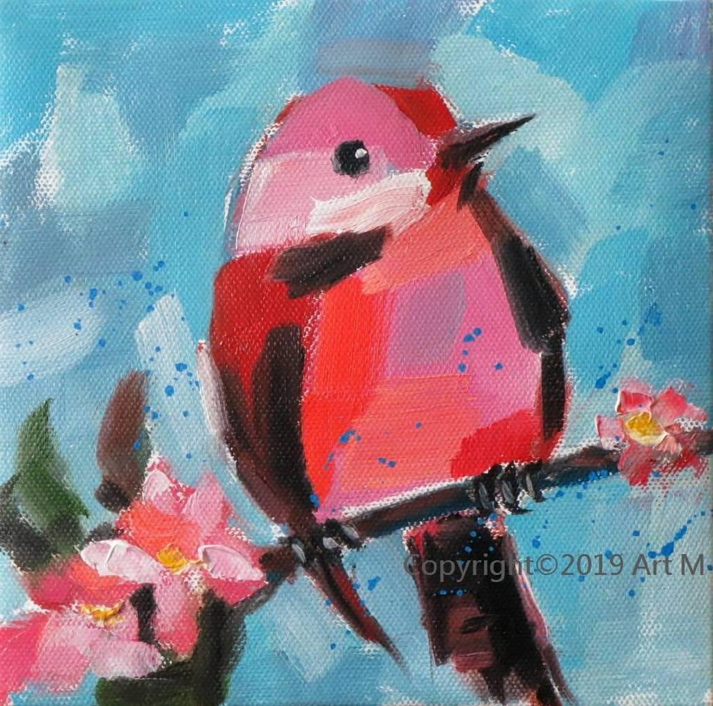 Mar - Atelier- [超萌系列]  - 我是一只美麗的小小鳥  ART6