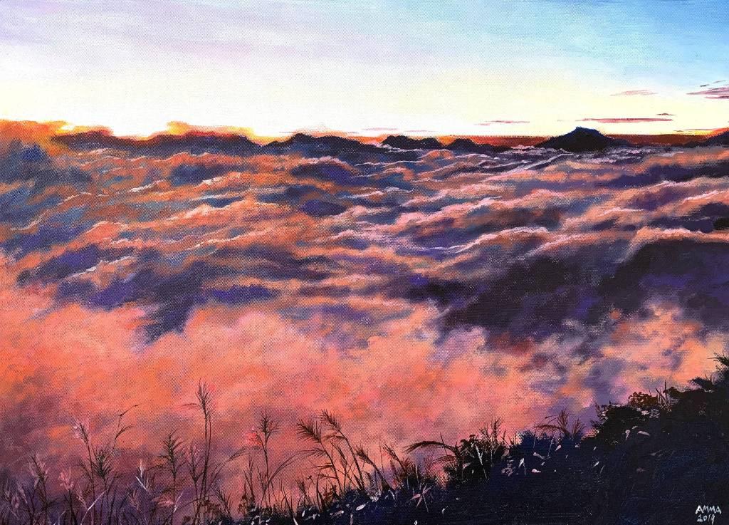 艾瑪 Amma-《追光者系列:赤朱丹彤》Light Chaser : Magnificent Sunrise In Mt.Ali
