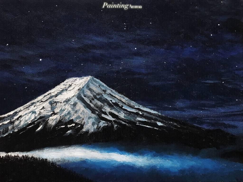 艾瑪 Amma-《夜色富士山》Mount Fuji In The Darkness