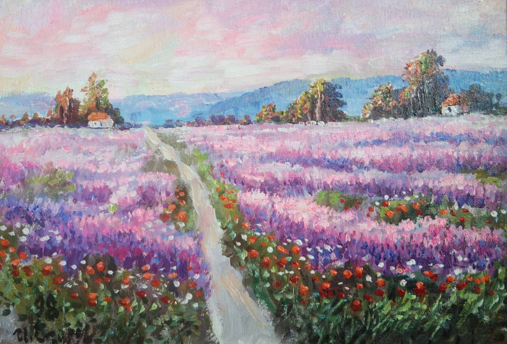 Ivan Yehorov-坦然時分  Lavender Embedding