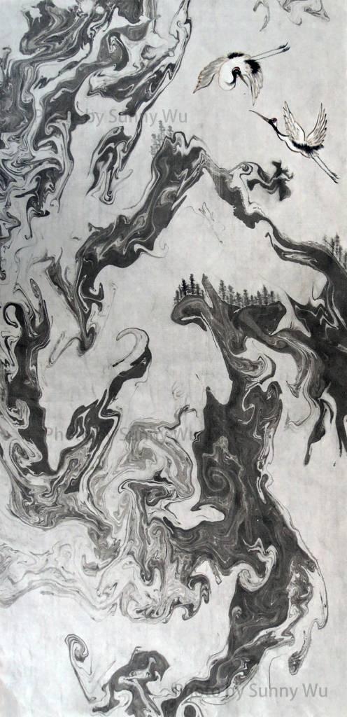 吳秀芳-白雪皚皚雲杉疏
