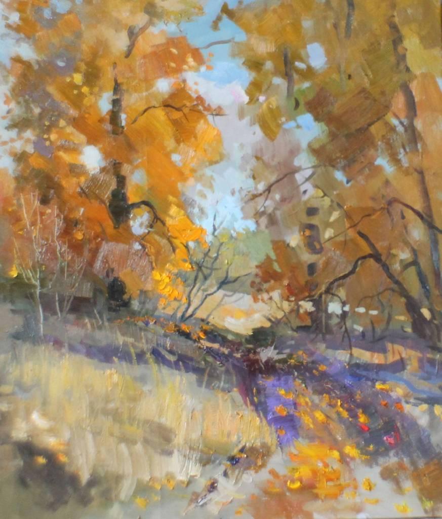 Pavel Veselkin-Road to garden