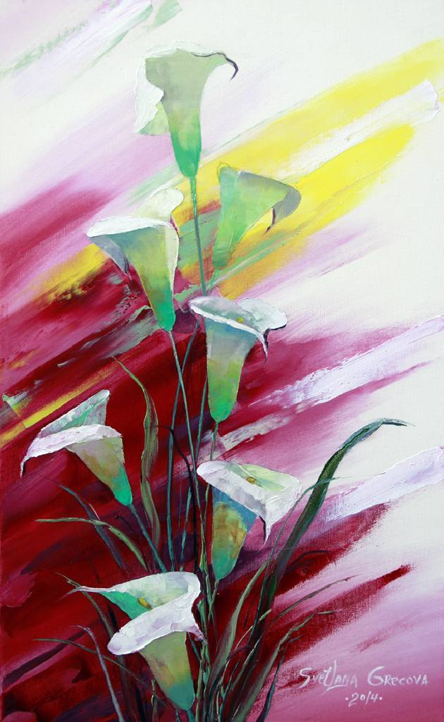 葛拉娜-Bouquet in red