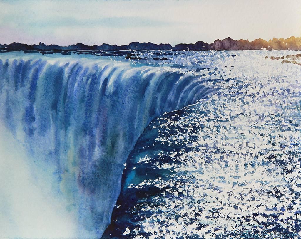 葛拉娜 - Waterfall