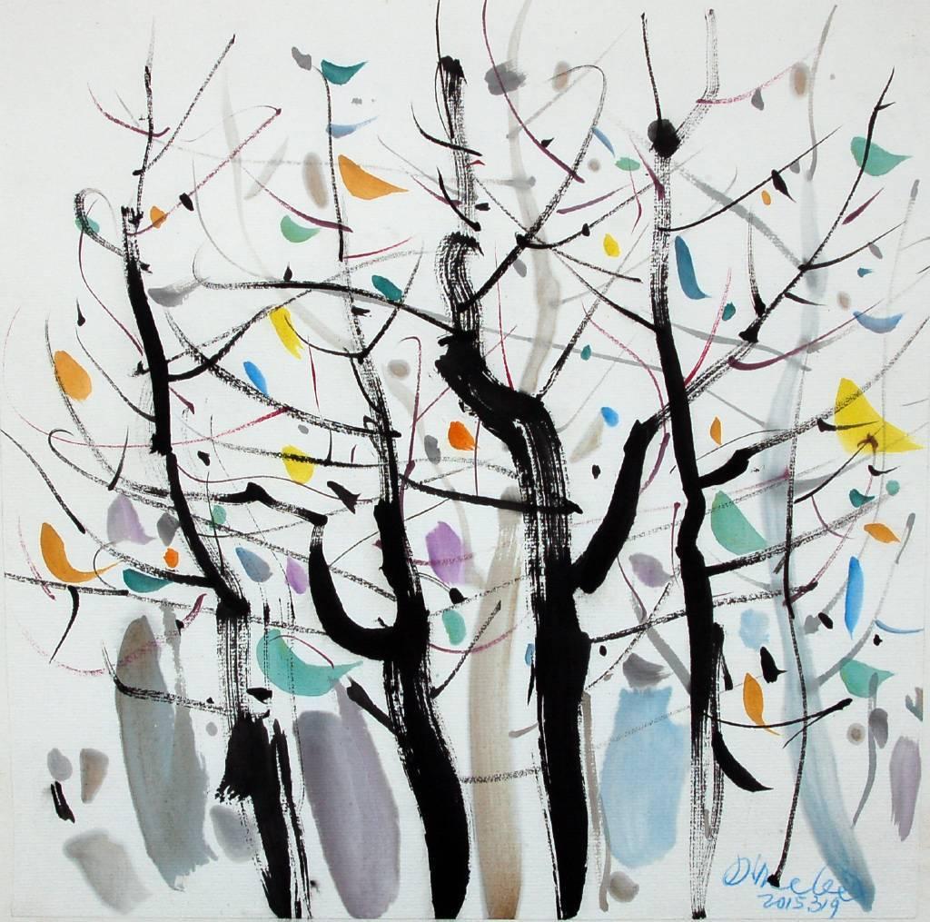 李琨波-幾棵樹