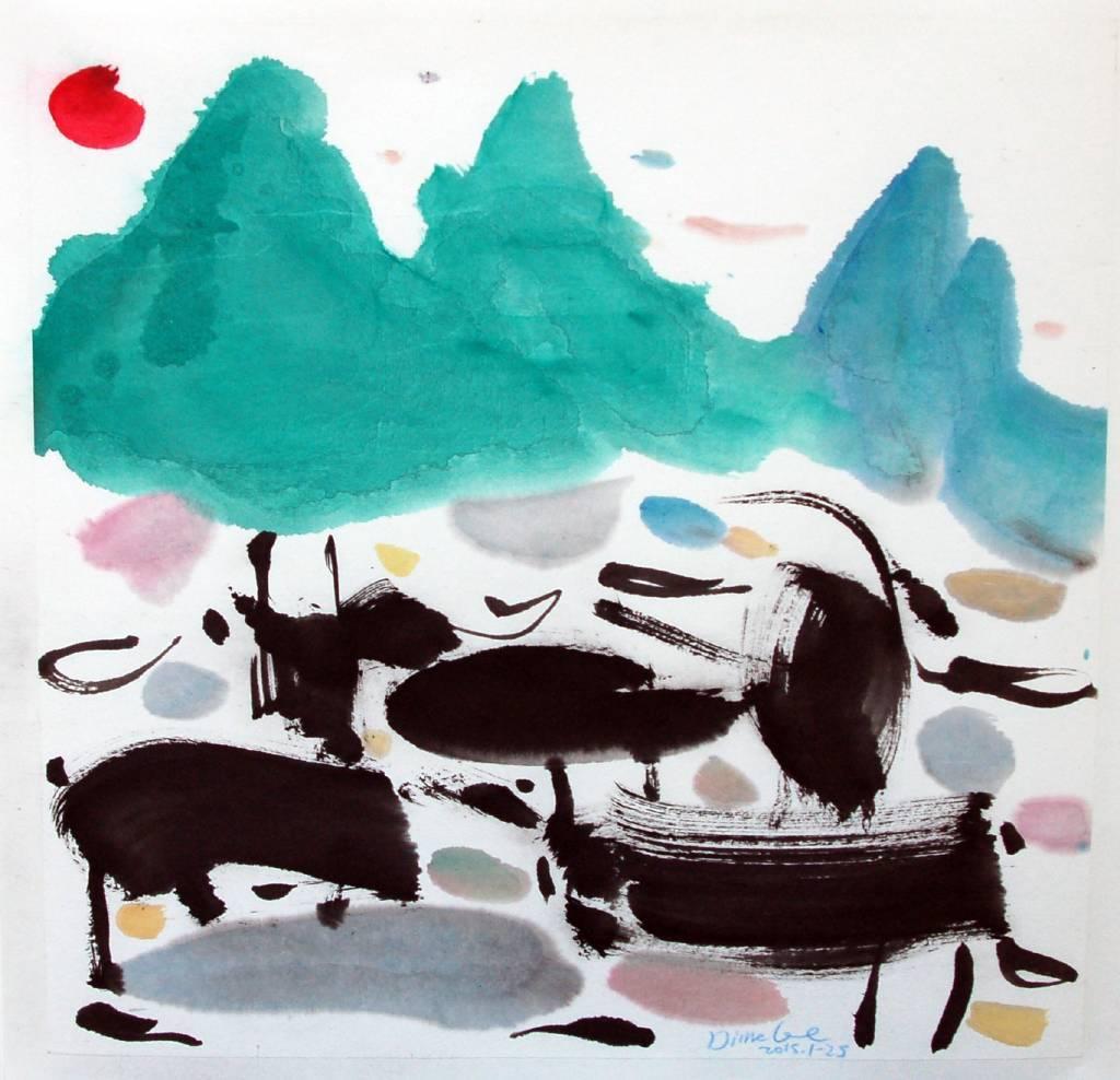 李琨波-牛羊下山