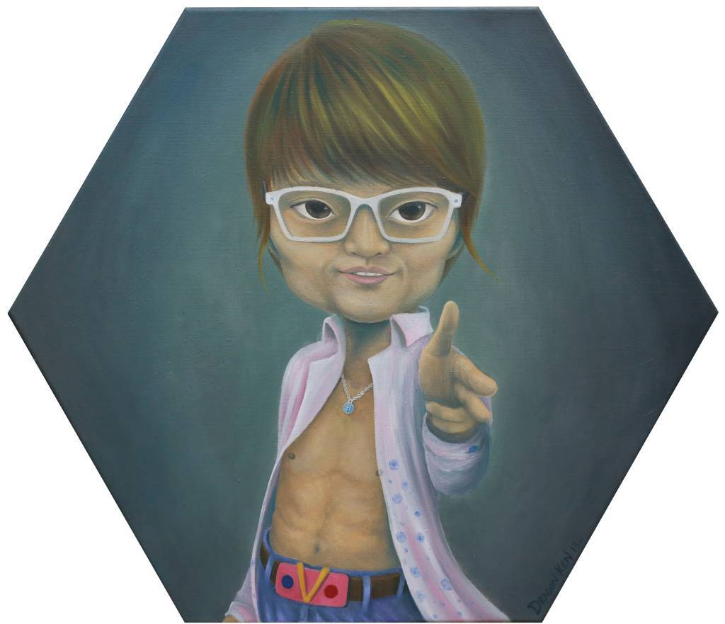 鄧子健 -變身男