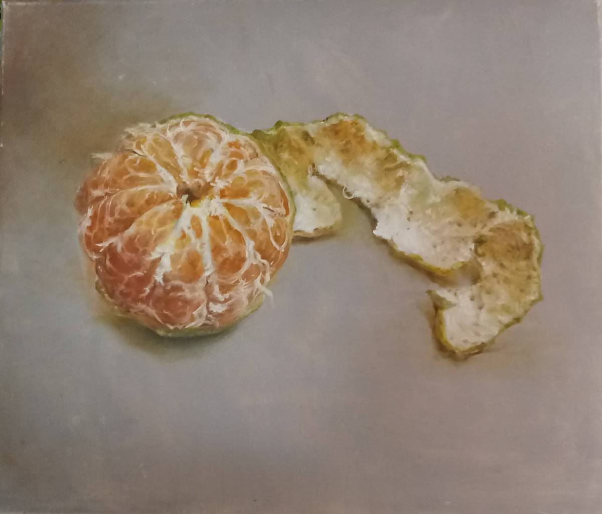 Yongxuan-靜物 剝皮的橘子
