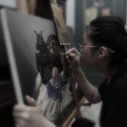 TODAAY藝術新銳〈候選人系列〉之六 - 《勤奮的繪畫者》─ 認識新銳藝術家曾寶萱